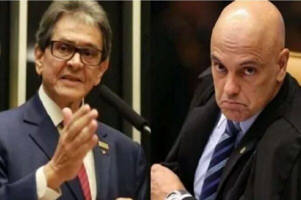 """Roberto Jefferson é condenado a pagar R$ 50 mil a Alexandre de Moraes, após dizer """"verdades"""" sobre esposa do ministro"""