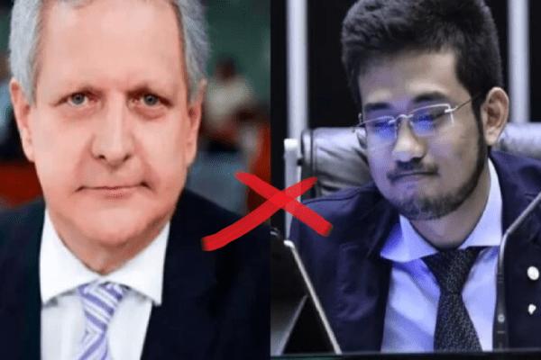 Jornalista Augusto Nunes afirma: 'Kim Kataguiri se transformou em uma figura patética'