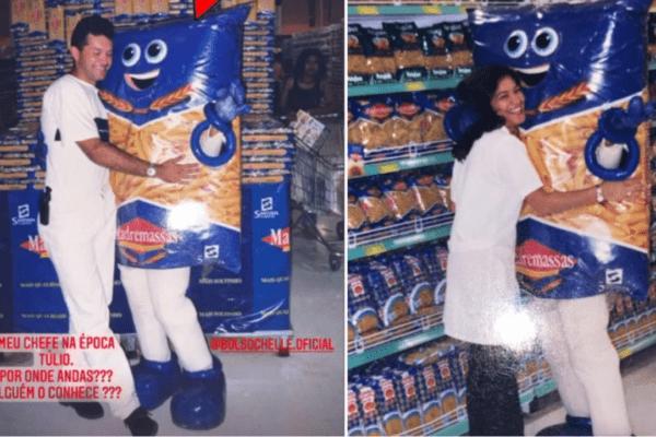Primeira-dama relembra primeiro emprego em supermercado: 'Vestida de pacote de macarrão'