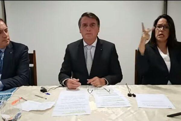 Bolsonaro vai ao STF contra restrições impostas por prefeitos e governadores
