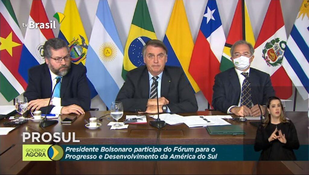 Em discurso, Bolsonaro declara compromisso com a Amazônia