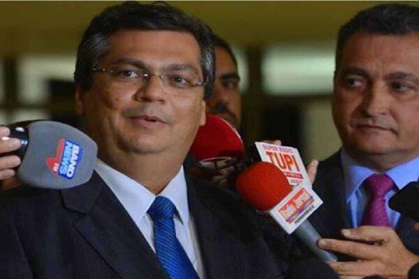 Flávio Dino e Rui Costa vão ao STF, pedir que Bolsonaro retire do Twitter post sobre repasse a Estados