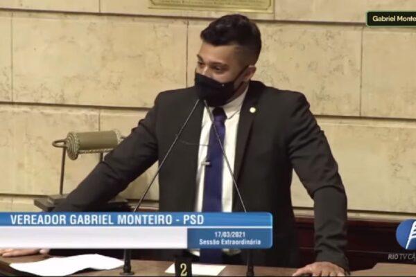 Gabriel Monteiro protocola PL que reduz pela metade o salário de políticos do Rio e direciona verba para o combate à pandemia