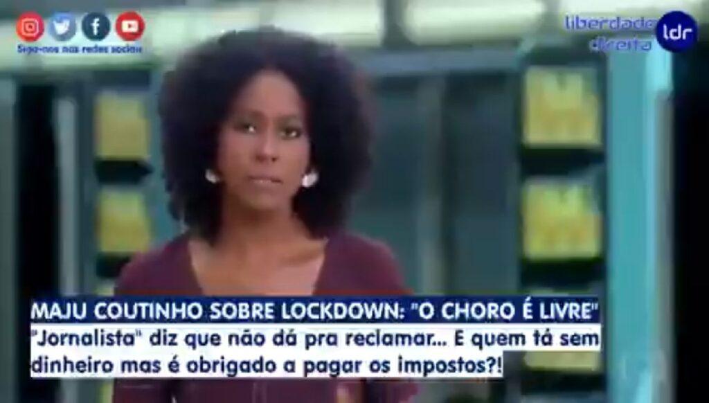 Após deboche de Maju, Globo sai em defesa da apresentadora