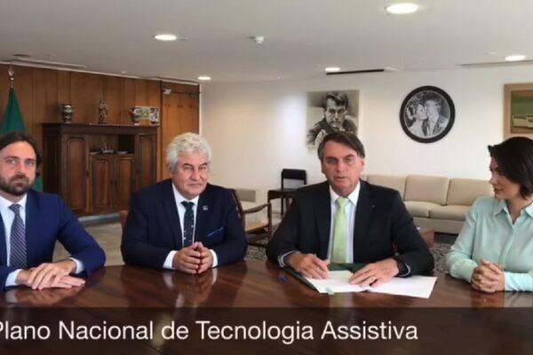 Presidente Bolsonaro assina decreto que regulamenta tecnologia assistiva