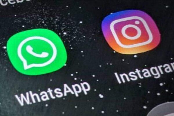 WhatsApp e Instagram apresentaram instabilidade