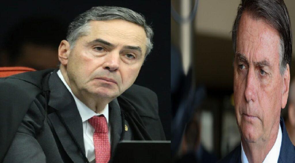 """Bolsonaro questiona Barroso: """"O que foi oferecido?"""""""