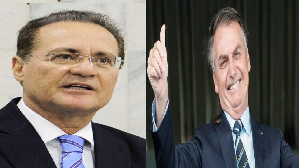 Bolsonaro publica vídeo e manda duro recado à Renan Calheiros
