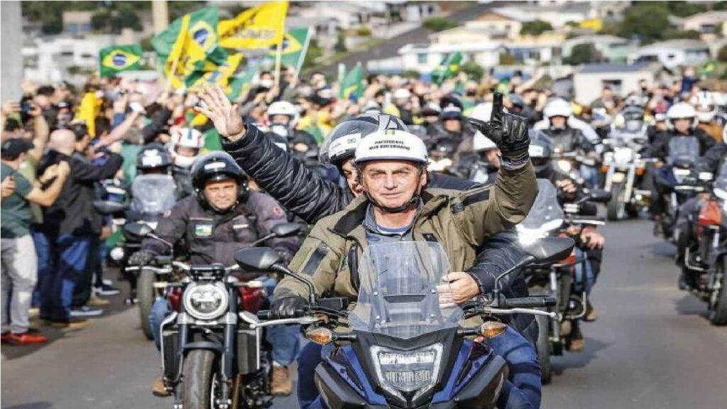 Presidente Bolsonaro convida para 1ª motociata no Nordeste, em Pernambuco