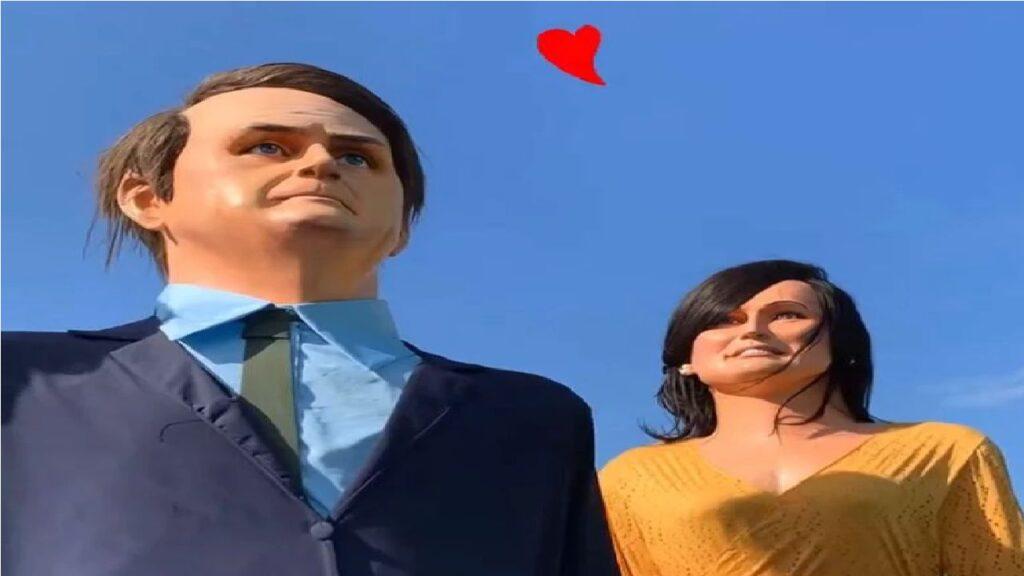 Presidente Bolsonaro e primeira dama ganham homenagem em Pernambuco